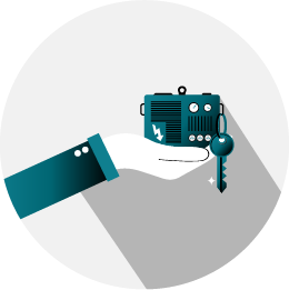 udlejning af generator lille ikon